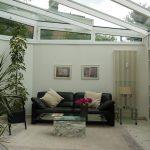 Glasdach kleine Wohnung
